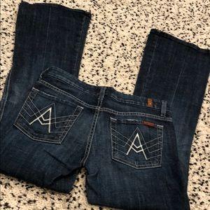 "7FAMK ""A"" pocket jeans"